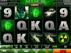The Incredible Hulk 50 Lines - Playtech