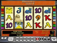 Pharaohs gold II ротативки rotativki77.com Greentube 1/5