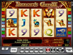 Pharaohs gold III ротативки rotativki77.com Novoline 1/5