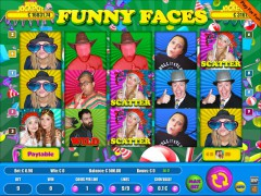 Funny Faces 9 Lines - Wirex Games