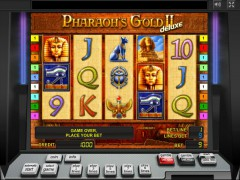 Pharaoh's Gold 2 Deluxe ротативки rotativki77.com Gaminator 1/5
