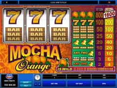 Mocha Orange - Microgaming