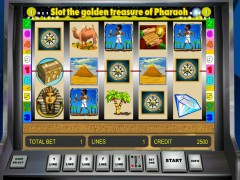 Golden Treasure of Pharaoh ротативки rotativki77.com Novoline 1/5