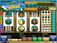 Pharaoh's Lotus ротативки rotativki77.com iSoftBet 1/5
