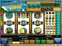 Pharaoh's Lotus ротативки rotativki77.com iSoftBet 4/5